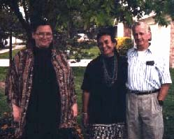 Catherine, Mary and Bud Mills